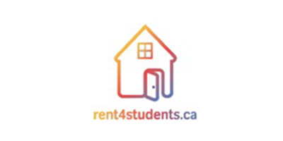 Expanded version of Logo for Rent4Students