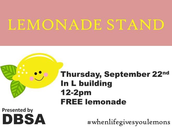 Dbsa lemonade stand