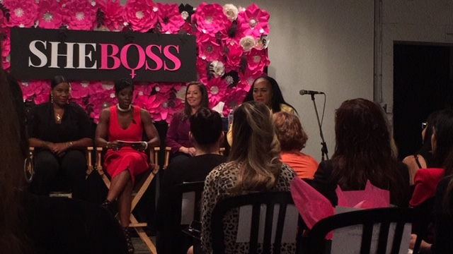 SheBoss - Panelists and Moderator