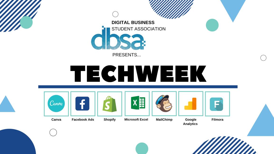TechWeek Fall 2019 – Mark YourCalendar!