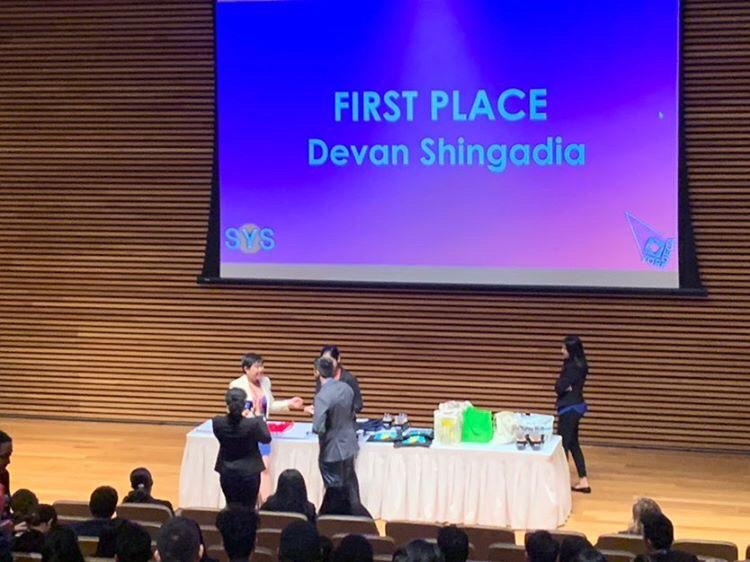 Digital Business Second Year Student Placed First in DECA Competition at YorkUniversity